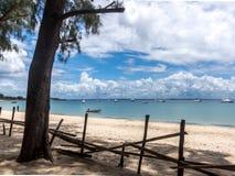 彭巴天堂海滩,北部莫桑比克 免版税图库摄影