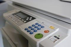 影印机设备 免版税库存照片