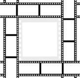 影片丝带照片框架 免版税图库摄影