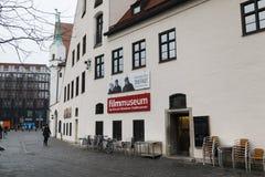 影片博物馆在慕尼黑 免版税图库摄影