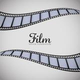影片和戏院象 库存图片