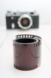 影片和照相机 库存照片