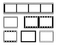 影片小条框架 图库摄影