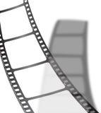 影片影子白色 免版税库存照片