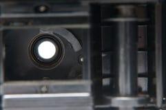 影片照相机内部 图库摄影