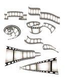 影片电影照片向量 图库摄影