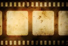 影片 免版税图库摄影