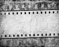 影片grunge数据条 免版税库存照片