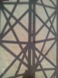 阴影艺术性的结构 库存照片