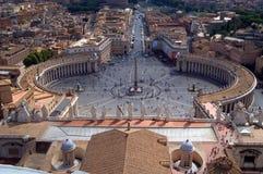 彼得位置s梵蒂冈 免版税库存图片