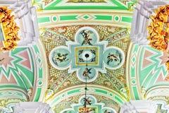 彼得和保罗堡垒。 内部。 圣彼德堡。 库存照片