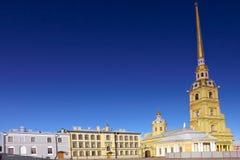 彼得和保罗堡垒。 圣彼德堡。 免版税库存图片