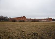 彼得和保罗堡垒的看法 春天 圣彼德堡 俄国 免版税库存照片