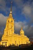 彼得和保罗大教堂在圣彼德堡,俄罗斯 库存照片