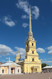 彼得和保罗大教堂 库存图片