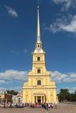 彼得和保罗大教堂 免版税图库摄影