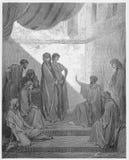 彼得在科尼利厄斯议院里  皇族释放例证