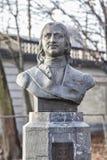 彼得大帝的纪念碑在布鲁塞尔 库存图片