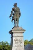 彼得大帝纪念碑在塔甘罗格,俄罗斯 免版税库存图片