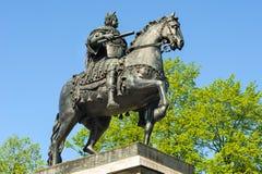 彼得大帝纪念碑,圣彼德堡,俄罗斯 免版税库存图片