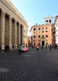 彼得拉广场在罗马 库存照片
