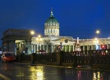彼得斯堡俄国圣徒 免版税库存图片