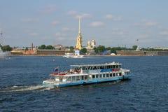 彼得斯堡俄国圣徒 库存照片