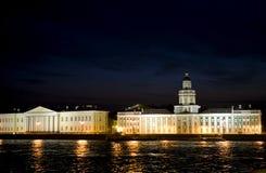 彼得斯堡俄国st 免版税库存图片