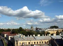 彼得斯堡圣徒veiw 图库摄影