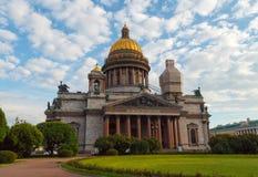 彼得斯堡 大教堂isaac s圣徒 免版税库存图片
