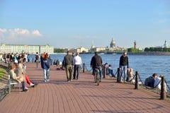 彼得斯堡st视图 免版税库存图片