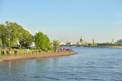 彼得斯堡st视图 库存图片