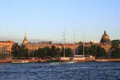 彼得斯堡st 免版税图库摄影