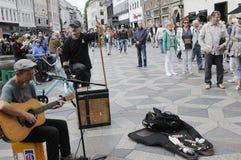 彼得琼斯英国歌手和音乐家 库存照片