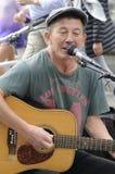 彼得琼斯英国歌手和音乐家 库存图片