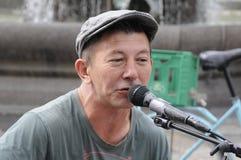 彼得琼斯英国歌手和音乐家 图库摄影