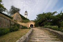 彼得罗瓦拉丁堡垒在诺维萨德 免版税库存图片