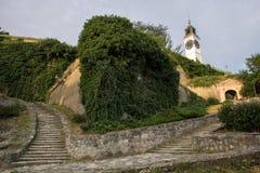 彼得罗瓦拉丁堡垒在诺维萨德 免版税库存照片