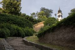彼得罗瓦拉丁堡垒在诺维萨德 图库摄影