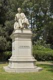 彼得罗Paleocapo雕象  库存照片
