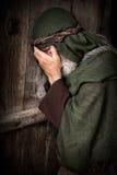 彼得耶稣` s否认  库存照片