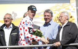 彼得萨根2015年环法自行车赛 库存照片