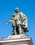 彼得・保罗・鲁本斯雕象有我们的夫人大教堂的  免版税图库摄影