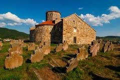 彼得; s教会在新帕扎尔,塞尔维亚 图库摄影