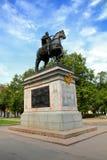 彼得1座纪念碑在圣彼德堡 免版税库存照片