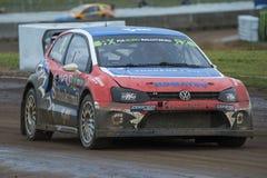 彼得HEDSTROM 巴塞罗那FIA世界Rallycross 免版税图库摄影