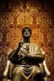 彼得st雕象梵蒂冈 免版税库存图片