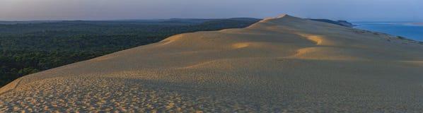 彼拉多,法国沙丘  最大的含沙沙漠在欧洲 免版税库存照片