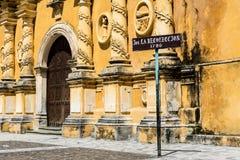 往事(Iglesia De La Recollecion)的教会,利昂 免版税库存图片