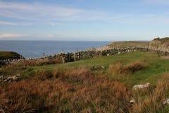 往南堆, anglesey,威尔士的看法 库存图片